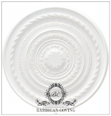 The Von Trapp Plaster Ceiling Rose 670mm